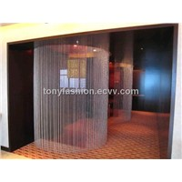 Ball Chain Room Divider