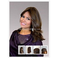 Black European Hair Kosher Wigs/Jewish Wigs