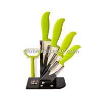 Colorful Ceramic Kitchen Tool Sets Knife