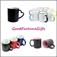 Colour Chage Ceramic Mugs