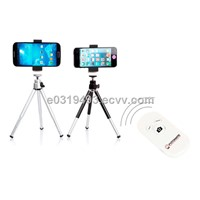 Combo: Extendable Tripod Stand Holder for Smartphone with Fotomate