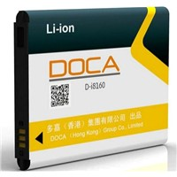 DOCA Hot Sell 1500mah Mobile phone battery for Samsung GALAXY ACE2 i8160 ace II