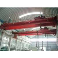 Double beam bridge electromagnetic crane