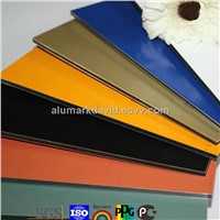 Exw price for aluminum composite panel/aluminium composite panel