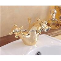 GOLD PVD bidet faucet mixer tap