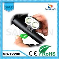 High Bright 2200lm Bike LED Light Waterproof Bike LED Light