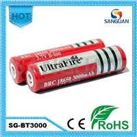 Manufactural Ultrafire Rechargeable 18650 Battery Wholesale
