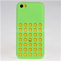 Official Colorful Soft Silicone cases for IPhone 5C