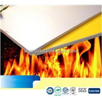 PVDF/PE coating fireproof aluminium composite panel with 4mm 3mm 5mm thick