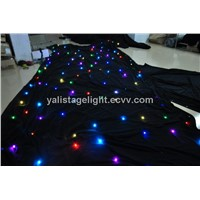 RGB Star Curtain LED Curtain LED Star Cloth Curtain