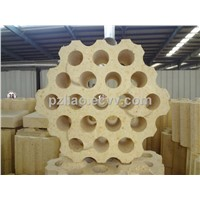 Regenerator high alumina bricks
