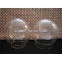 Round glass lamp shade