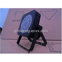 Stage New Style LED High Power Flat PAR Can/ LED 24PCS*10W 3-in-1 or 4 (Quad) -in-1 Flat PAR Light
