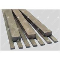 Standard tungsten carbide rectangular strip
