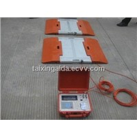 Static Portable Axle Weigher