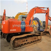 Used Crawler Excavator HITACHI ZX200-3