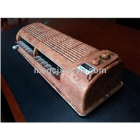Wall hanging type vehicle air conditioner Mahogany