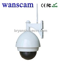 Wanscam(HW0032)-720P H.264 Wireless Camera Outdoor Wifi HD Infrared PTZ IP Camera