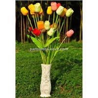 artificial flower PU tulip
