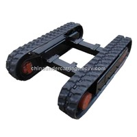 complete rubber track undercarriage