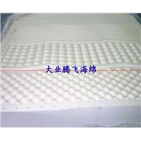 folded massage sponge bed mat/massage mat for bed