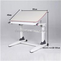 height adjustable writing table for children and students