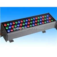 High Power 60*1/3 LED Outdoor Wall Washer Light, Full Color LED Flash Light