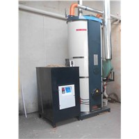 high thermal efficiency biomass fuel hot water boiler
