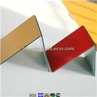multiple -choice for marble/silver brushed/fireproof aluminum plastic composite panel