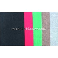 red plain carpet for exhibition 100%PE made by machine