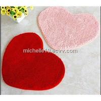 red plain velour/velvet carpet/rugs