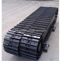steel track undercarriage track chassis for mining machinery