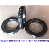 supplying PR tungsten carbide cold roll ring as to drawings