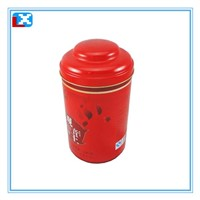 tea caddy tea tin