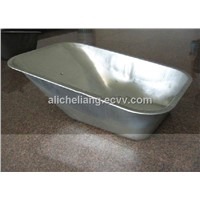 wheelbarrow wb5009, metal tray wheelbarrow