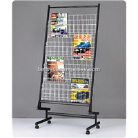 wrought iron magazine holder/rack/shelf