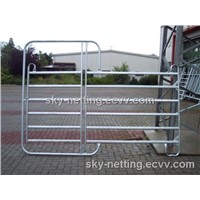 steel Cattle Yard Steel Panel Round Square Oviall Ivestock Panels Factory