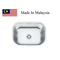 2318 CUPC stainless steel sink Made In Malaysia