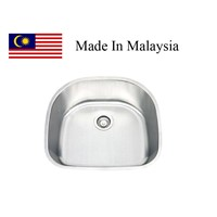 2421  CUPC stainless steel sink Made In Malaysia