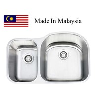 3121R  CUPC stainless steel sink Made In Malaysia