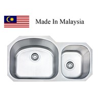 3218A  CUPC stainless steel sink Made In Malaysia