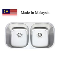 3218  CUPC stainless steel sink Made In Malaysia