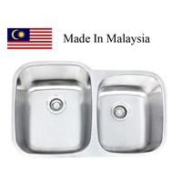 3221L  CUPC stainless steel sink Made In Malaysia