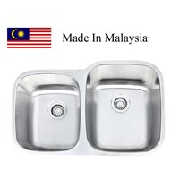 3221R  CUPC stainless steel sink Made In Malaysia