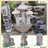 Stone Lantern, Outdoor Granite Gardening Lamp, Carved Stone Lantern, Decorative Stone Lamp