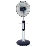 16 inch luxury stand fan with figure 8 oscillation with remote control