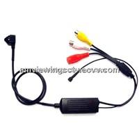650TV Line Snake Sony CCD Pinhole Camera, Ultra Mini Size,easy to hide