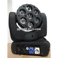 7pcs*10W 4-in-1 Osram LED Beam Moving Head Light indoor