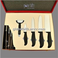 Ceramic Kitchen Knives Set  with Gift Box Packing
