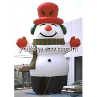 Giant Blow up Inflatable Snowman Christmas Outdoor Decoration Big Discount Now